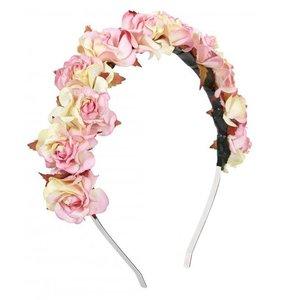 Rock n Rose Pink Rose Crown Headband, £22