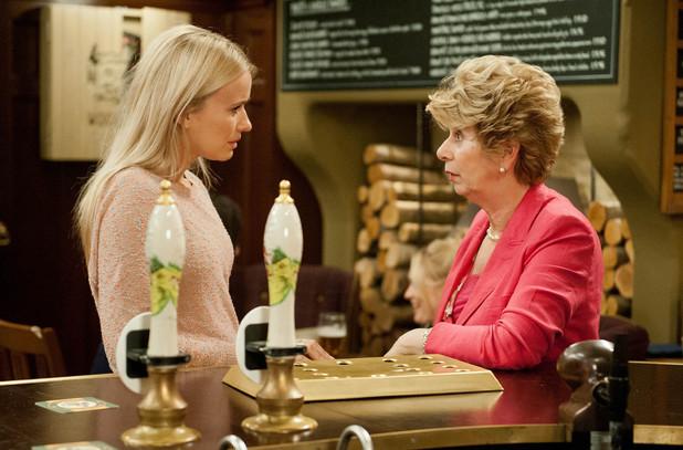 Emmerdale, Diane talks to Katie, Tue 12 Aug