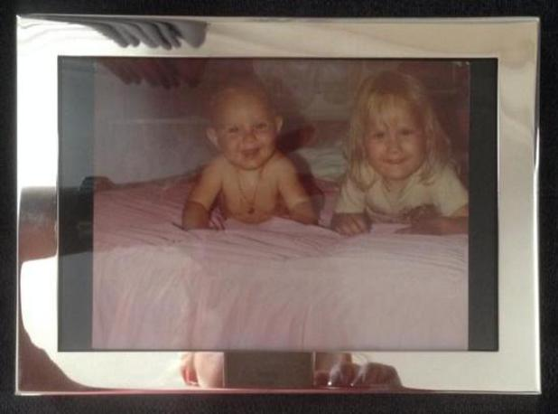 TOWIE's Leah Wright and Elliott Wright pictured as children in throwback wedding present - 8 August 2014