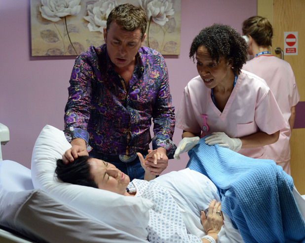 EastEnders, Kat in labour, Fri 8 Aug
