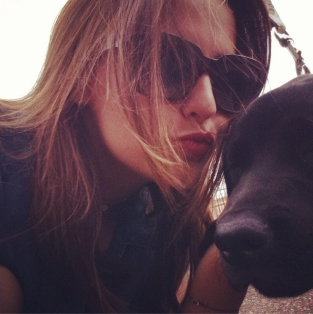 Lucy Watson and Guide Dog, Watson, Instagram 1 August