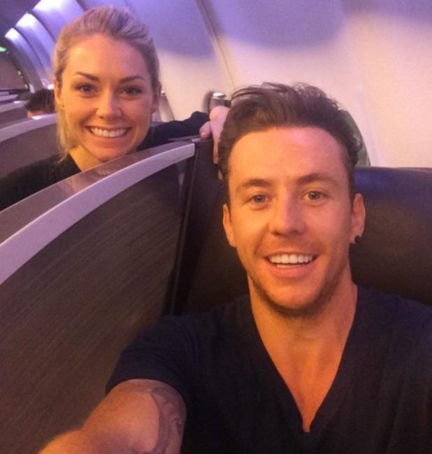 McFly's Danny Jones heads off on honeymoon with Georgia Horsley - 4 August 2014