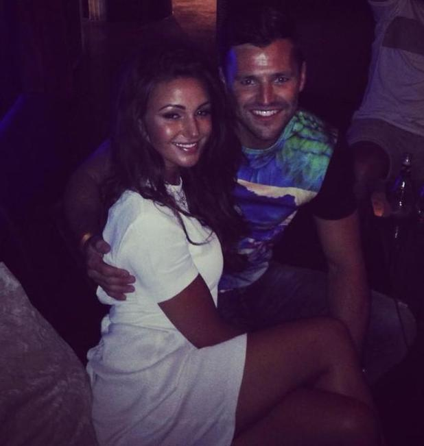 Mark Wright, Michelle Keegan and Brooke Vincent holiday together in Ibiza with friends - 8 August 2014