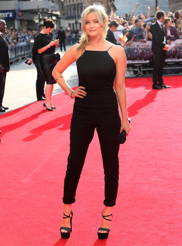 Laura Whitmore, The Expendables 3 - UK film premiere held at the Odeon cinema - Arrivals, 4 August 2014