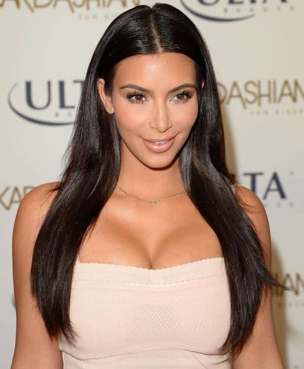 Kim Kardashian Promotes Kardashian Sun Kissed At ULTA Beauty In Los Angeles, 6 August 2014