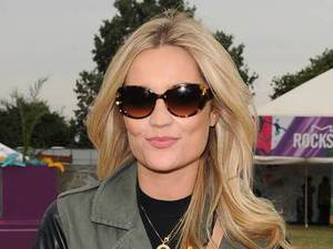 Laura Whitmore attends Virgin Media's Louder Lounge at V Festival in Chelmsford, Essex - August 2013
