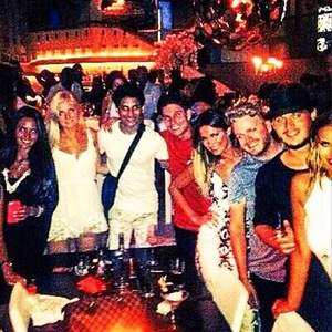 Joey Essex and friends in Ibiza, Instagram 12 August