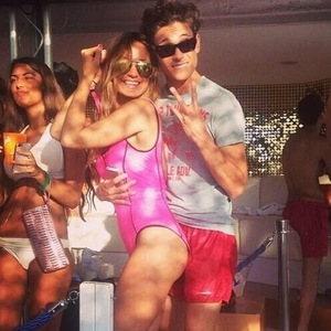 Joey Essex and Sam Faiers in Ibiza, Instagram 13 August