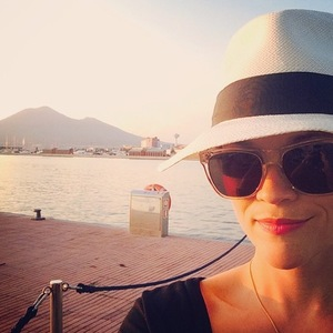 Reese Witherspoon holidays in Capri, Italy 12 August
