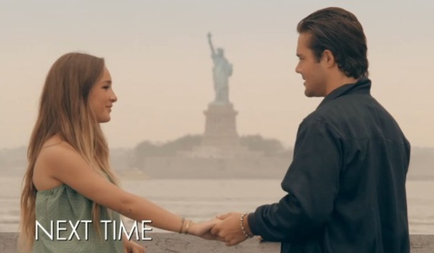 Billie Carroll and Spencer Matthews go on a date. Made In Chelsea: New York. Episode will air on 17 August 2014.