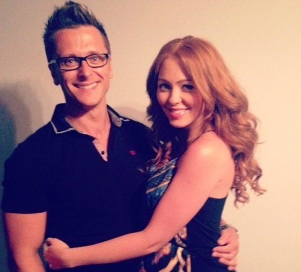 Natasha Hamilton and Ritchie Neville, Twitter 26 July