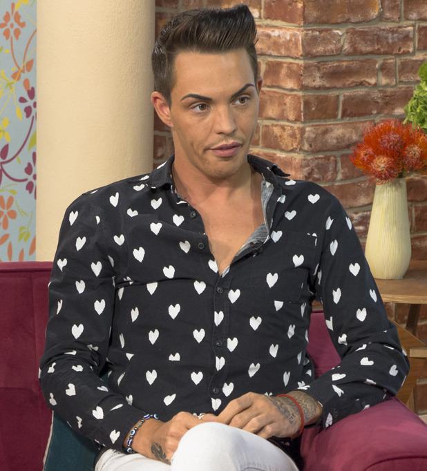 Bobby Norris discusses mum's cancer diagnosis on This Morning' TV Programme, London, Britain. - 12 Aug 2014