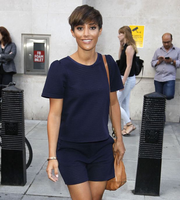 The Saturdays at BBC Radio 1 Studios, London, Britain - 11 Aug 2014.
