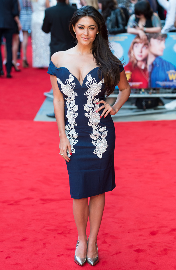 Casey Batchelor at the U.K. premiere of 'What If' held at the Odeon West End. 12/08/2014