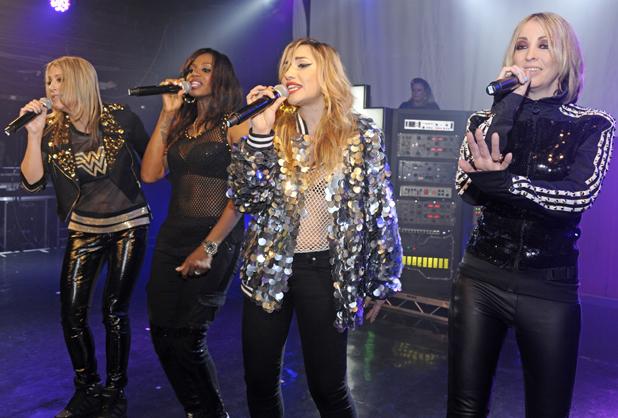 All Saints,Melanie Blatt,Shaznay Lewis,Natalie Appleton,Nicole Appleton perform at GAY, April 2014