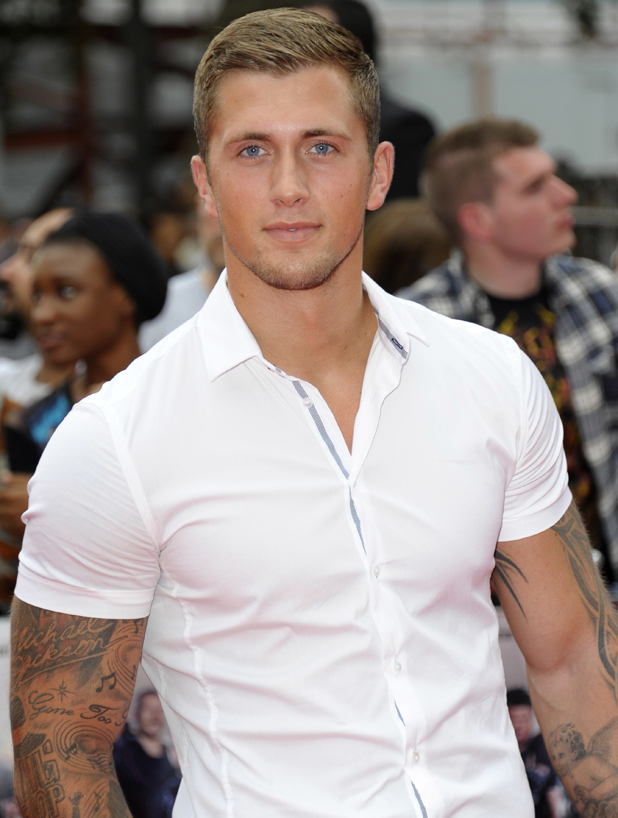 Dan Osborne at The Expendables 3 - World film premiere held at the Odeon cinema - Arrivals, 2014