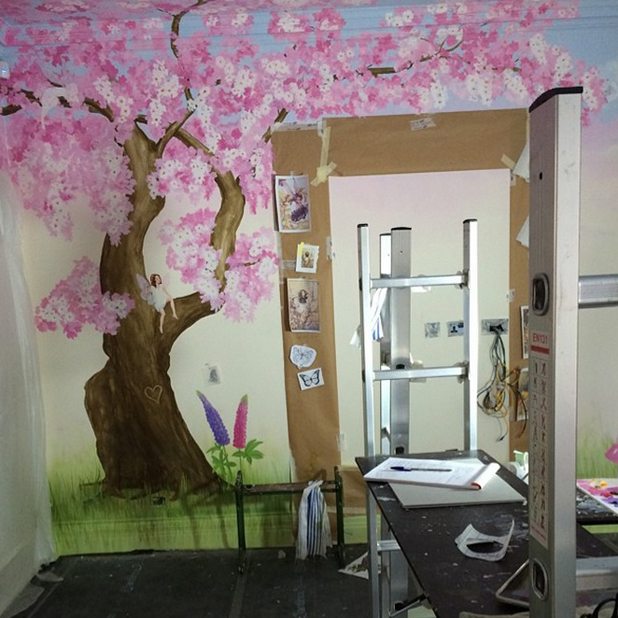 Tamara Ecclestone shares picture of daughter Sophia's playroom, 14 August 2014