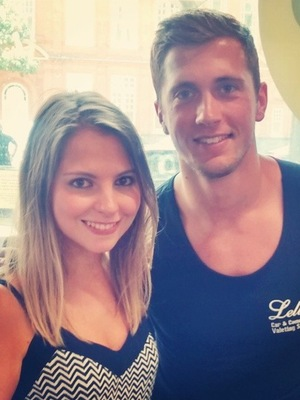 Reveal chats with TOWIE's Dan Osborne at the charity car wash held at Lellers Car Valet London - 13 August 2014