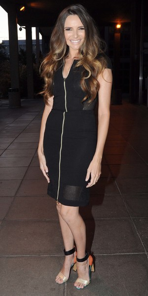 Nadine Coyle at RTE Studios for 'Saturday Night with Miriam', 22 August 2014