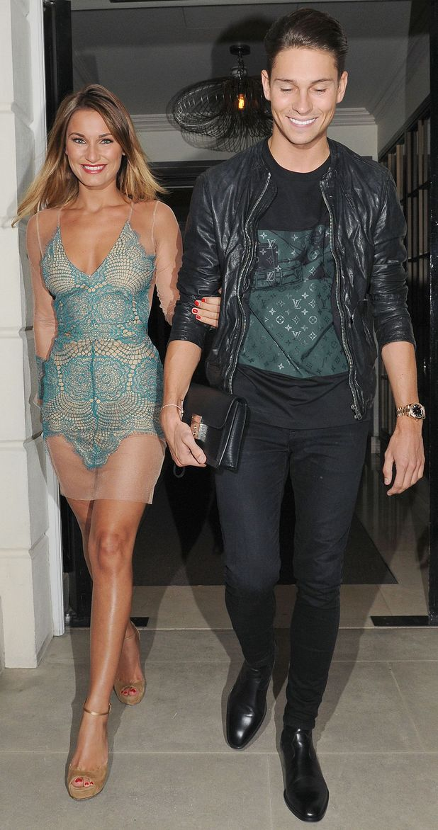 Sam Faiers and Joey Essex go for date night in London, England - 20 August 2014