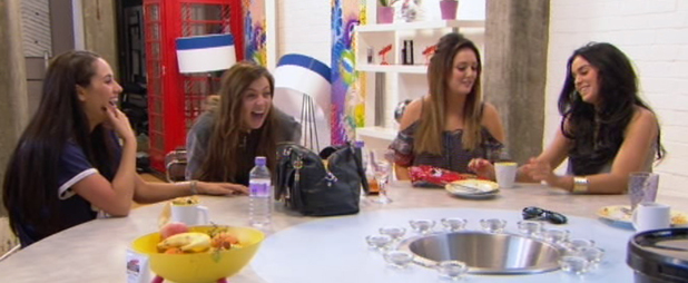 Geordie Shore girls bitch about Aaron Chalmers, MTV 19 August