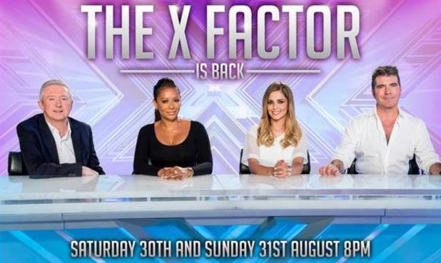 The X Factor start date confirmed - 20 August 2014