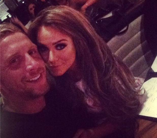 Vicky Pattison and James Morgan enjoy a date night in London - 19 August 2014