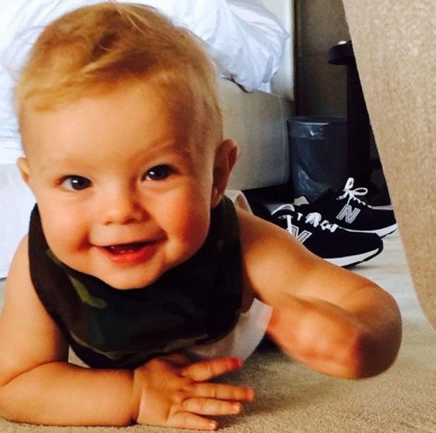 Josh Duhamel shares photo of his son Axl on Instagram 16 June