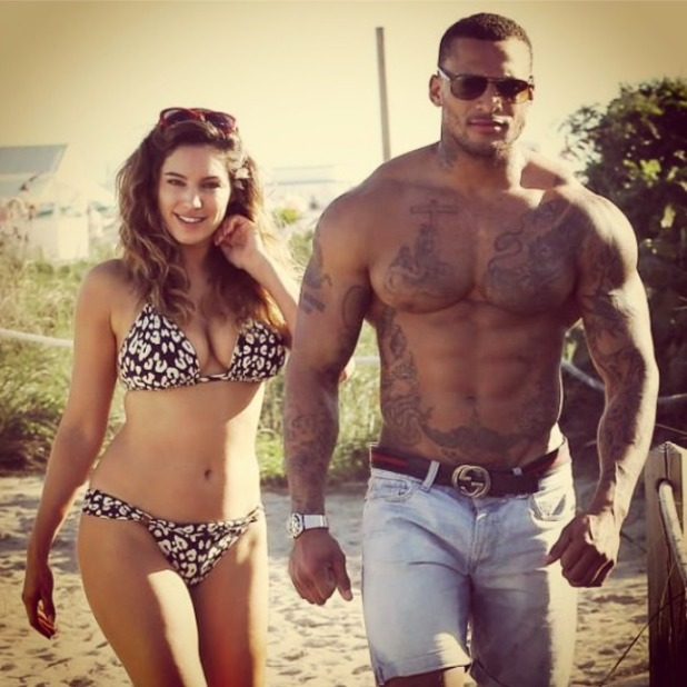Kelly Brook shares picture of herself and fiancé David McIntosh with sentimental message, 23 August