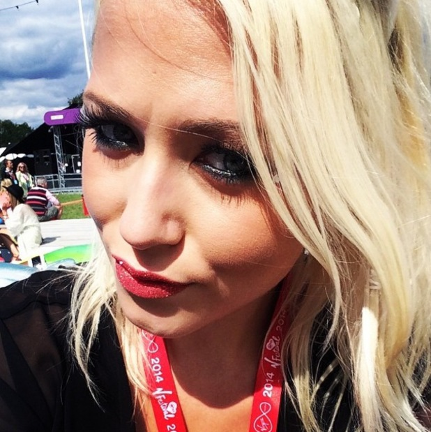 Amelia Lily at V Festival, Chelmsford, Essex 17 August