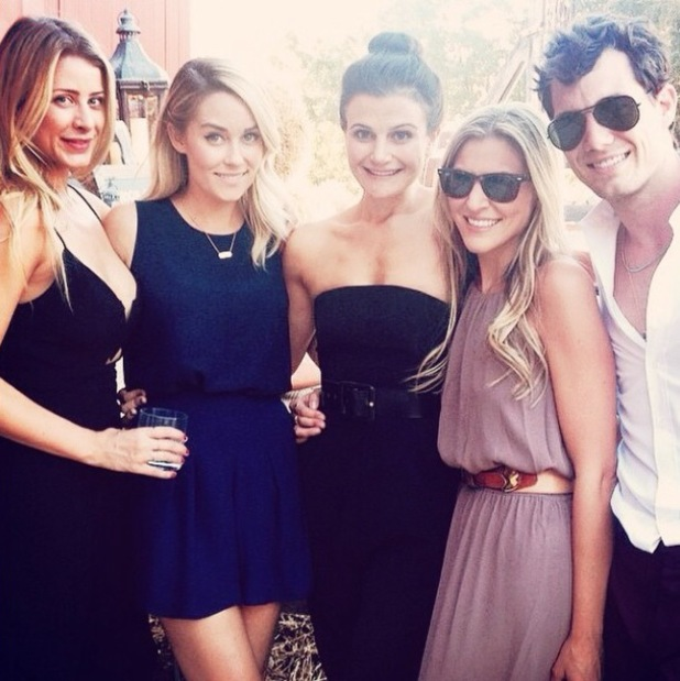 The Hills' Lauren Conrad and Lo Bosworth reunite at a friend's wedding - 18 August 2014