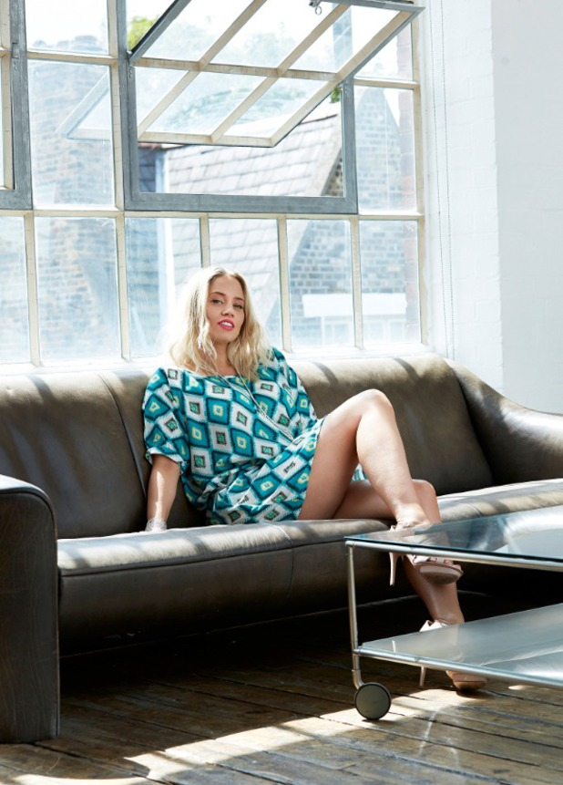 Kimberly Wyatt launches her seven-piece fashion collection for Dancing Leopard - August 2014