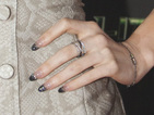 Megan Fox wows with glittery, ombre nails at Ninja Turtles premiere