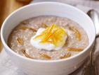 Delicious Chocolate Orange Porridge - healthier than it sounds!