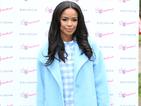 X Factor's Sarah-Jane Crawford gives us coat envy in powder blue