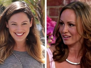 Kelly Brook and Chanelle Hayes argue about David McIntosh - 27 August 2014