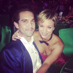 Kaley Cuoco-Sweeting and Ryan Sweeting at Emmys, LA 25 August
