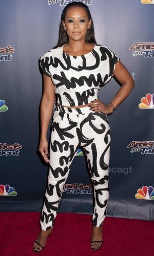 Mel B on Americas Got Talent Post Show Red Carpet, 27 August 2014