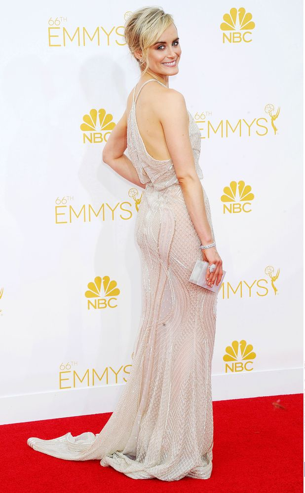 Taylor Schilling, The 66th Annual Primetime Emmy Awards, Arrivals, Los Angeles, America - 25 Aug 2014