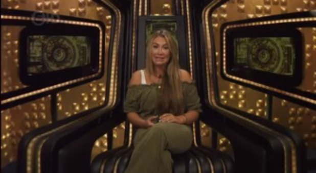 Lauren Goodger reprimanded for weeing in the swimming pool on CBB - 26 August 2014