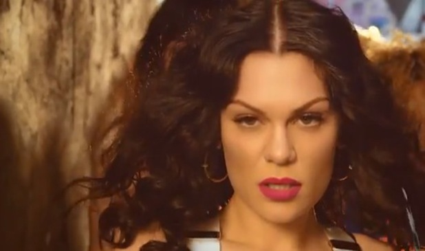 Jessie J in the video for Bang Bang, VEVO 25 August