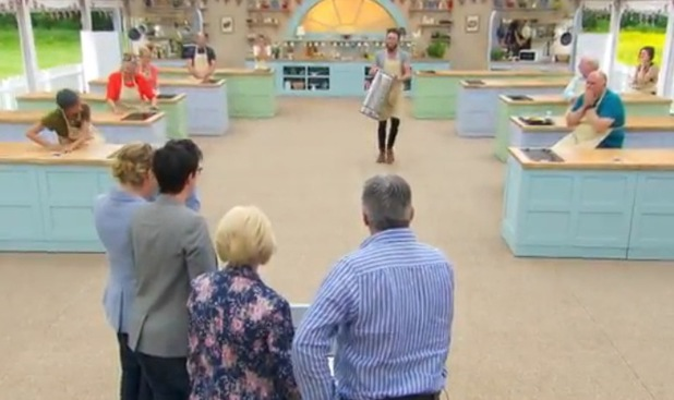 Great British Bake Off fans revolt after Iain is sent home and Diana removes ice cream from freezer - 27 August 2014