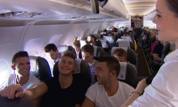 Scott Timlin, Gary Beadle and James Tindale head to Iceland, Geordie Shore, MTV 26 August