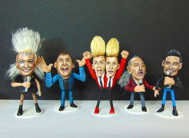 Steve Casino's X Factor contestant peanuts