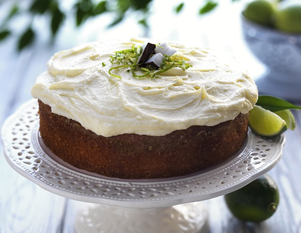 Easy recipe for this yummy Lime Drizzle Cake with Coconut Butter Cream ...