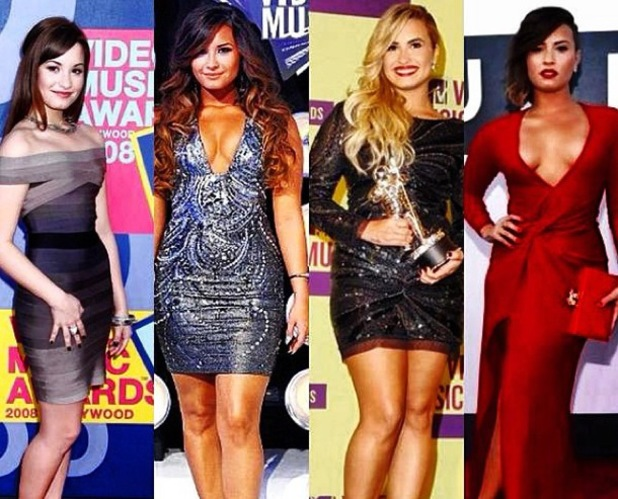 Demi Lovato looks back on her red carpet appearances at VMAs and says she finally feels beautiful, Instagram 25 August