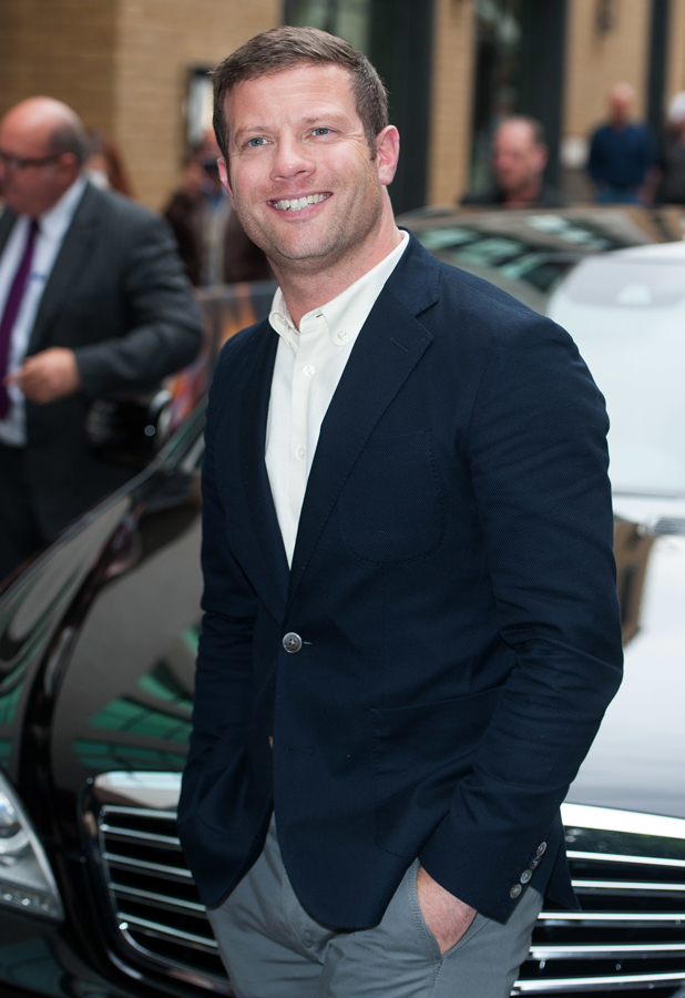 Dermot O'Leary at X Factor Press Launch held at the Ham Yard Hotel - Arrivals, 27 August 2014