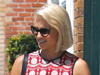 Glee star Dianna Agron shows off new platinum hairdo while shopping in LA