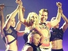 Britney Spears turns Perez Hilton into her slave on stage in Vegas