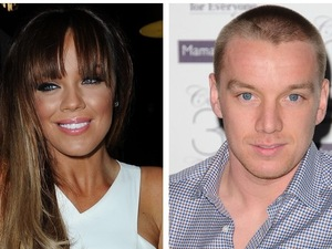 Maria Fowler pictured with with Danielle Lloyd's hubby Jamie O'Hara